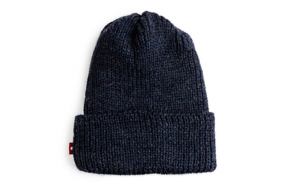 Wool Toque Denim